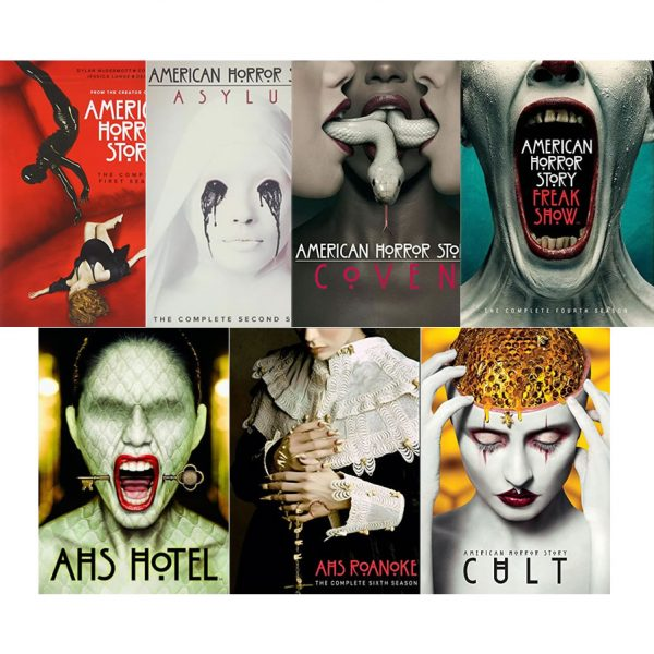 dvd sales uk american horror story complete series 1-7 box set