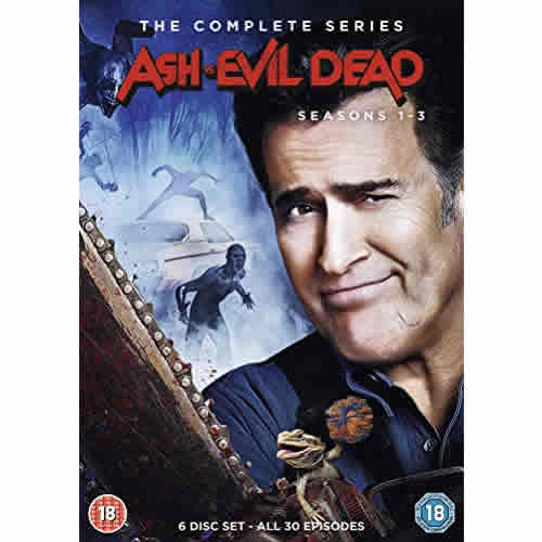 dvd sales uk ash vs evil dead complete series 1-3 box set