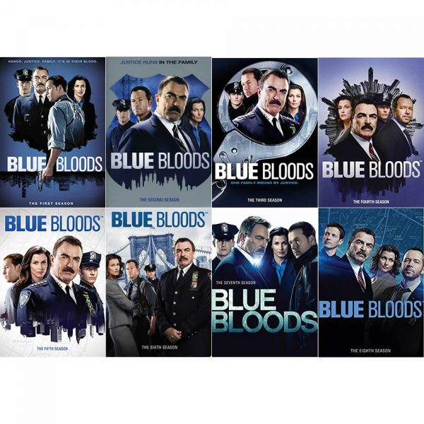 dvd sales uk blue bloods complete series 1-8 box set