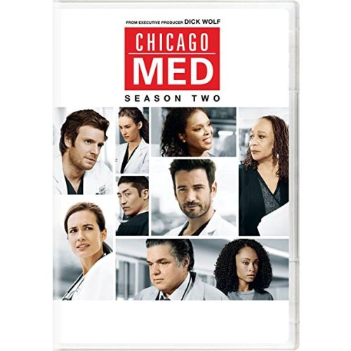 DVD sales uk chicago med season 2