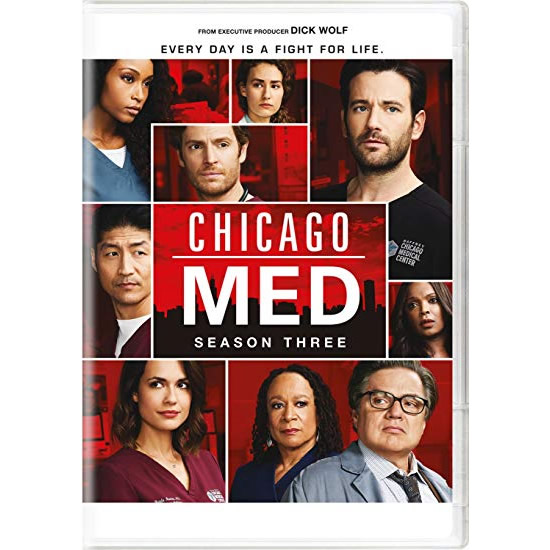 DVD sales uk chicago med season 3