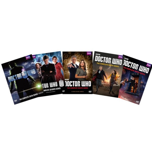 dvd sales uk doctor who complete series 6-10 box set