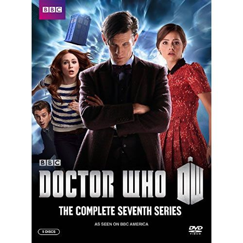 DVD sales uk doctor who season 7