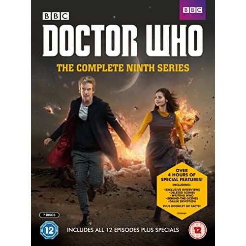 DVD sales uk doctor who season 9