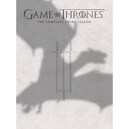 DVD sales uk game of thrones season 3
