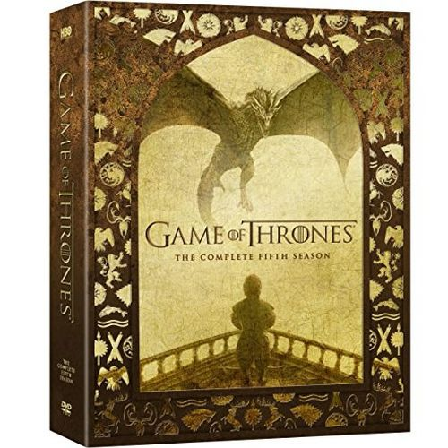 DVD sales uk game of thrones season 5
