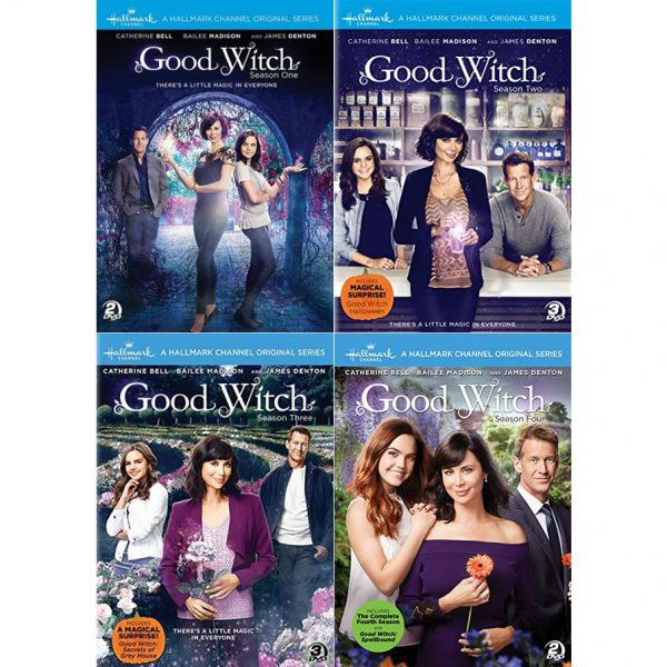 dvd sales uk good witch complete series 1-4 box set