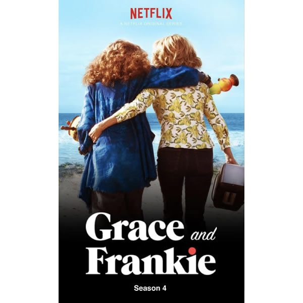 DVD sales uk grace and frankie season 4