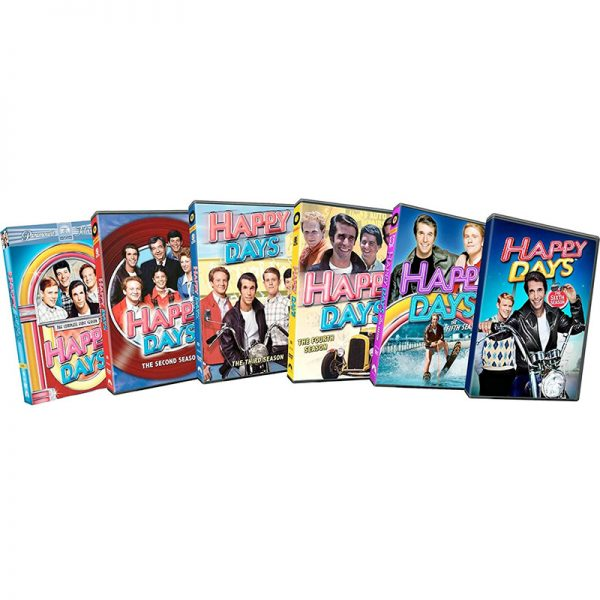 dvd sales uk happy days complete series 1-6 box set