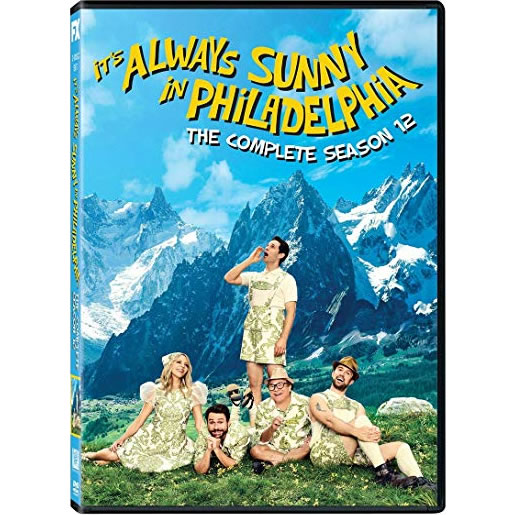 DVD sales uk it's always sunny in philadelphia season 12