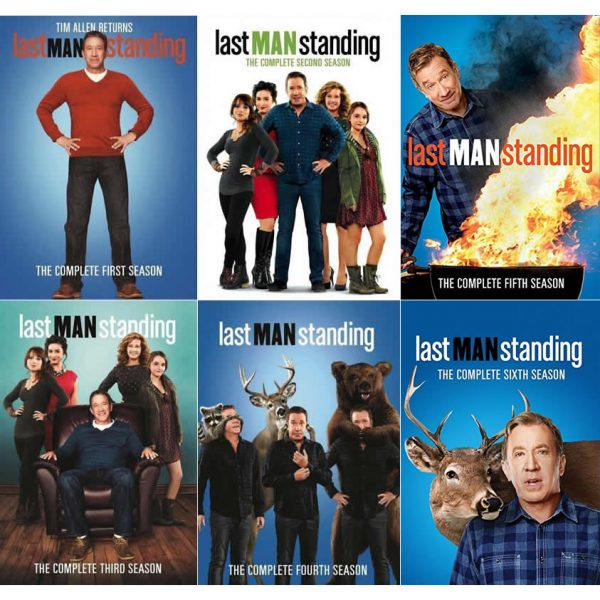 dvd sales uk last man standing complete series 1-6 box set