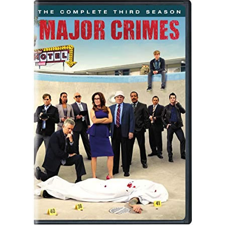 DVD sales uk major crimes season 3