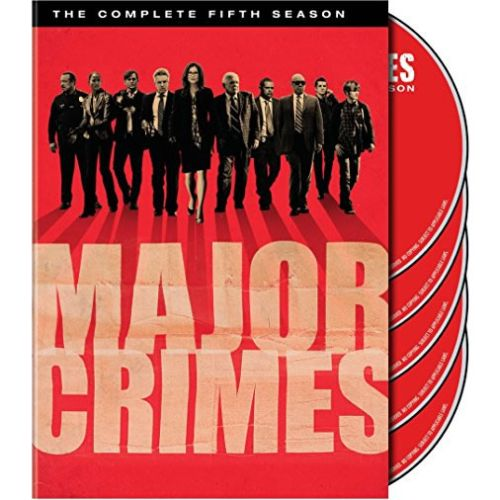DVD sales uk major crimes season 5