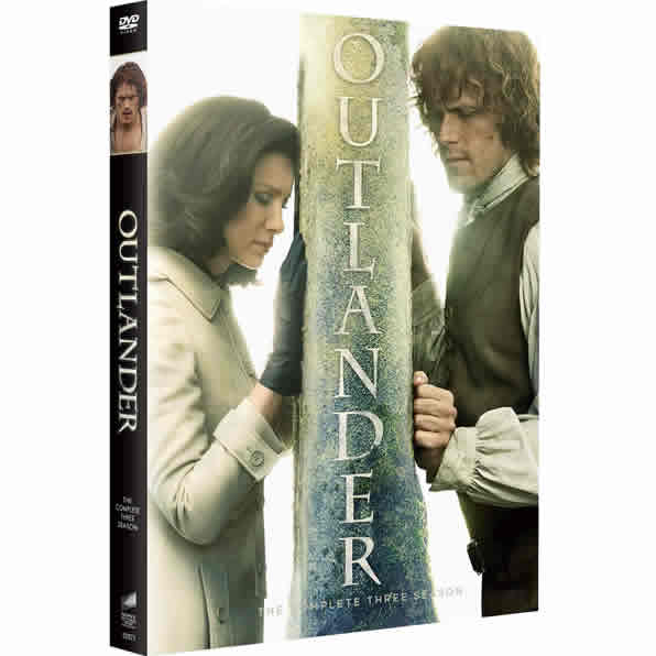 DVD sales uk outlander season 3