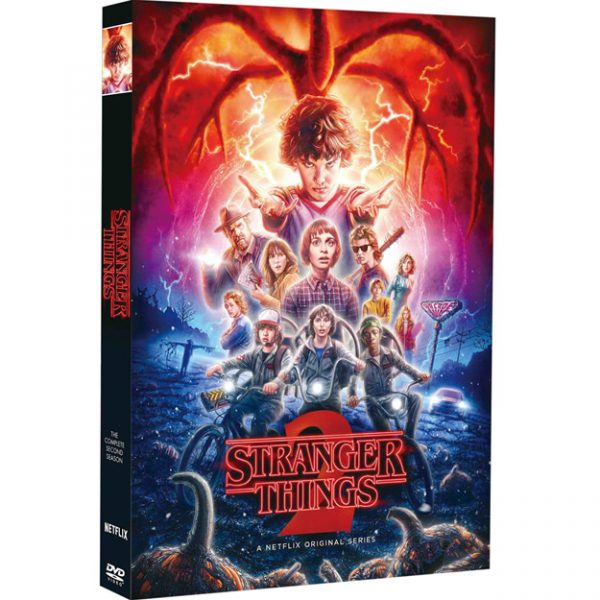 DVD sales uk stranger things season 2