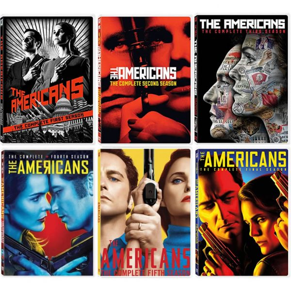 dvd sales uk the americans complete series 1-6 box set