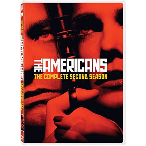 DVD sales uk the americans season 2