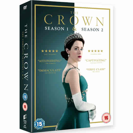 DVD sales uk the crown season 1 and 2