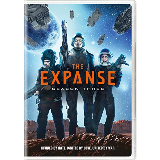 DVD sales uk the expanse season 3