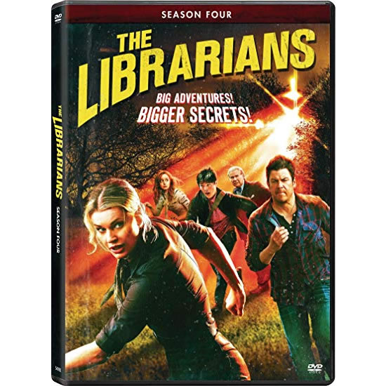 DVD sales uk the librarians season 4