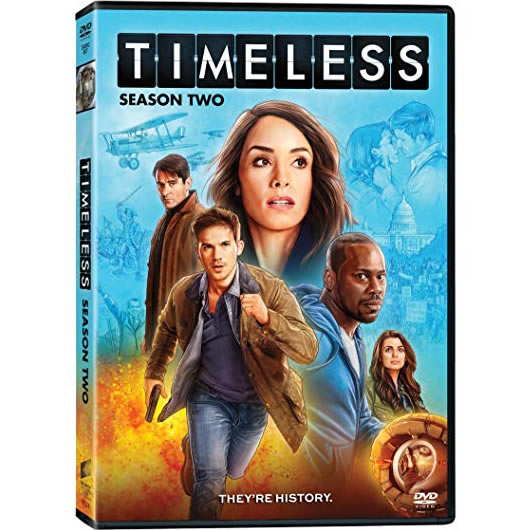 DVD sales uk timeless season 2