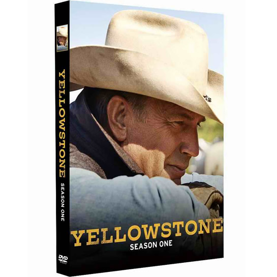 DVD sales uk yellowstone season 1