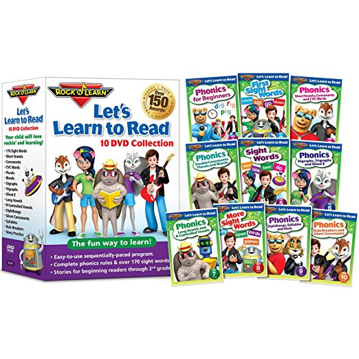 anime dvd uk lets learn to read by rock n learn