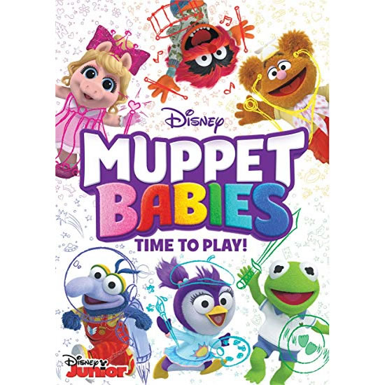 anime dvd uk muppet babies time to play