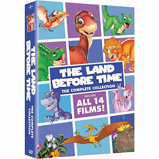 anime dvd uk the land before time complete collection