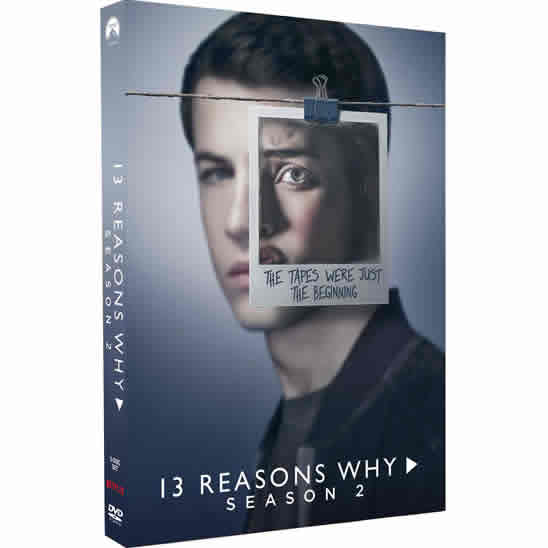 DVD sales uk 13 reasons why season 2