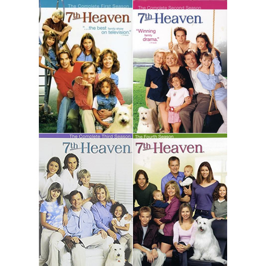 dvd sales uk 7th heaven complete series 1-4 box set
