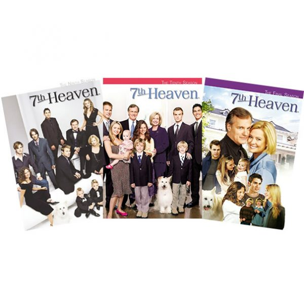 dvd sales uk 7th heaven complete series 9-11 box set