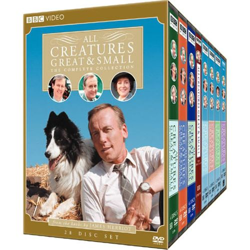 buy dvd box set uk all creatures great and small