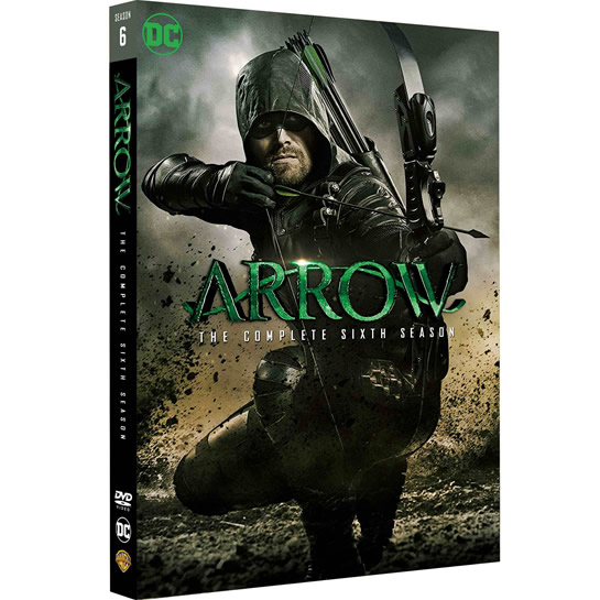 DVD sales uk arrow season 6