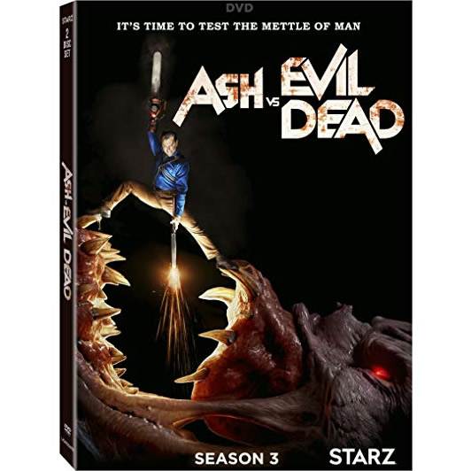 DVD sales uk ash vs evil dead season 3