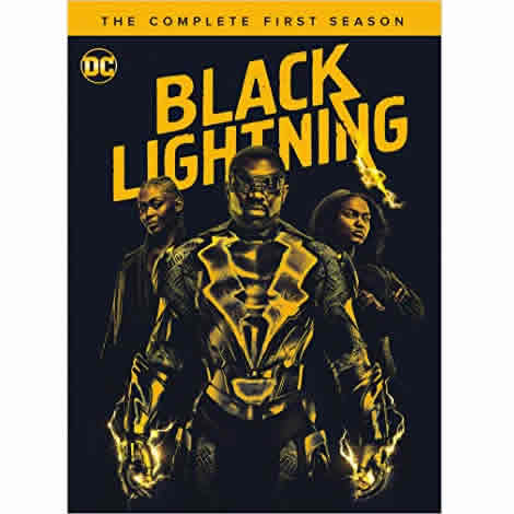 DVD sales uk black lightning season 1