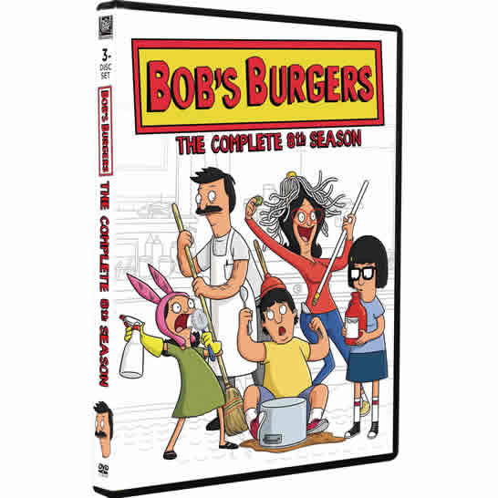 DVD sales uk bob's burgers season 8