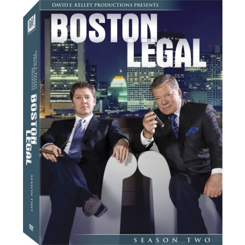DVD sales uk boston legal season 2