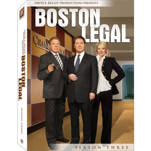 DVD sales uk boston legal season 3