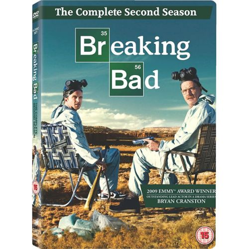 DVD sales uk breaking bad season 2