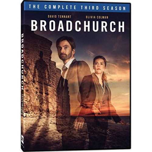 DVD sales uk broadchurch season 3