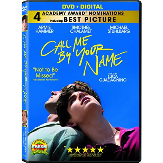 dvd sales uk call me by your name on dvd