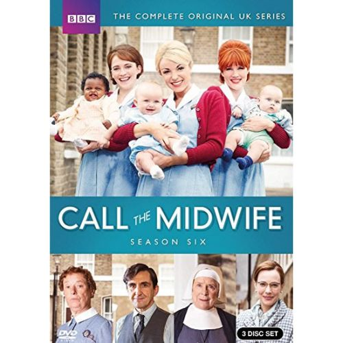 DVD sales uk call the midwife season 6