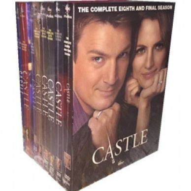 dvd sales uk castle complete series 1-8 box set