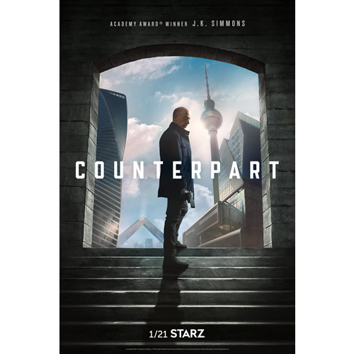 DVD sales uk counterpart season 1