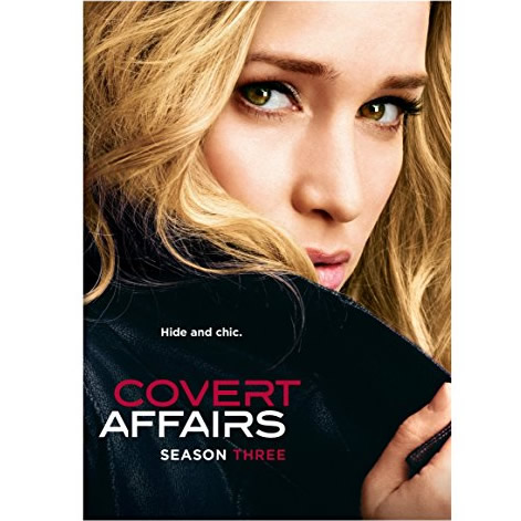 DVD sales uk covert affairs season 3