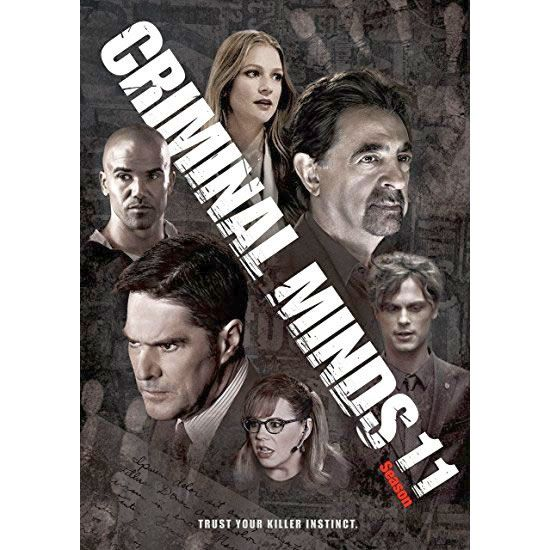 DVD sales uk criminal minds season 11