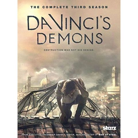 DVD sales uk da vinci's demons season 3