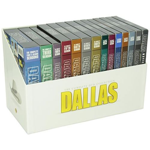 dvd sales uk dallas complete series 1-14 box set