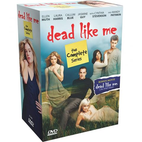 dvd sales uk dead like me complete series 1-2 box set